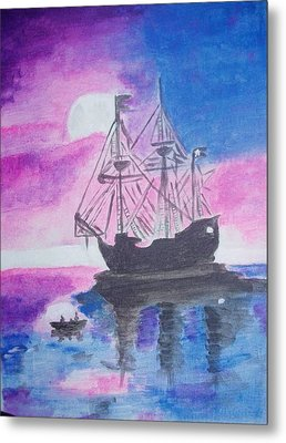 Blackpearl Metal Print