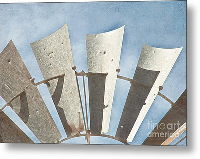 Blades - Texture Metal Print by Bob and Nancy Kendrick