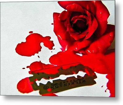 Bleed Metal Print by Prashant Ambastha