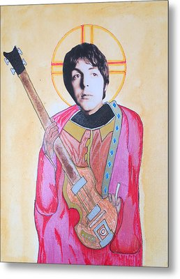 Blessed Paul Metal Print by Philip Atkinson