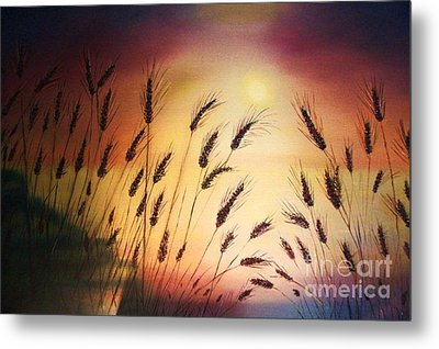 ''blessed Seeds Collection'' Metal Print