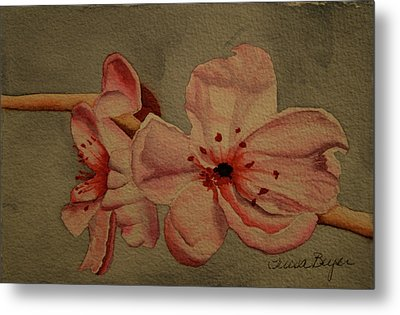 Metal Print featuring the painting Blossom II by Teresa Beyer