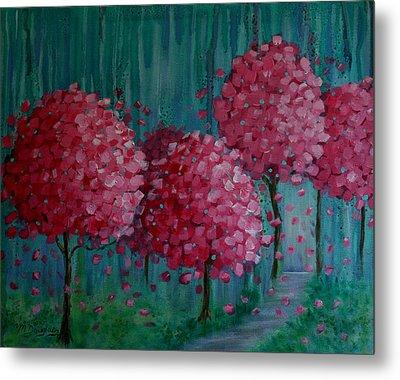 Blossoms Metal Print by Melodie Douglas
