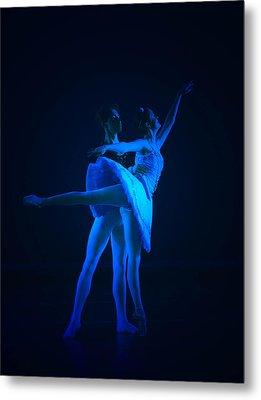 Blue Ballet Metal Print by Jenn Harris