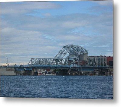 Blue Bridge Victoria Metal Print
