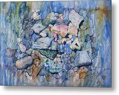 Blue Creek Stones Metal Print
