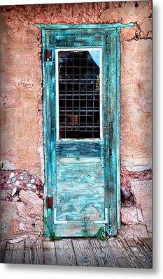 Blue Door 316 Metal Print by James Bethanis