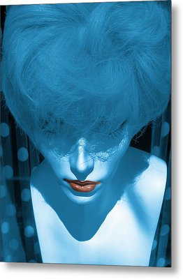 Blue Kiss Metal Print by David Pantuso
