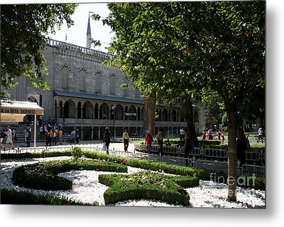 Blue Mosque I - Istanbul Metal Print by Christiane Schulze Art And Photography