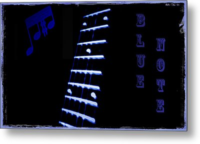Blue Note Metal Print by Bill Cannon