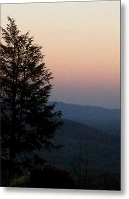 Metal Print featuring the photograph Blue Ridge Mountains by Elizabeth Coats