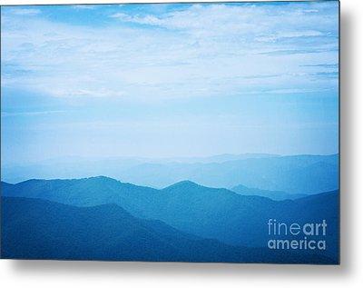Blue Ridge Mountains Metal Print by Kim Fearheiley