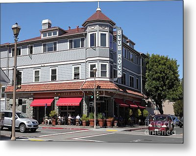 Blue Rock Inn - Larkspur California - 5d18478 Metal Print by Wingsdomain Art and Photography