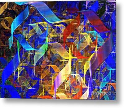 Blue Shift Metal Print by Kim Sy Ok