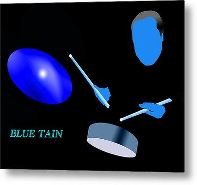 Blue Tain Metal Print