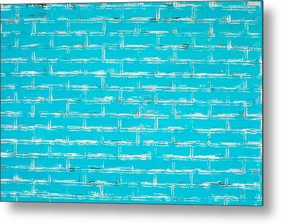 Blue Wall Metal Print by Tom Gowanlock