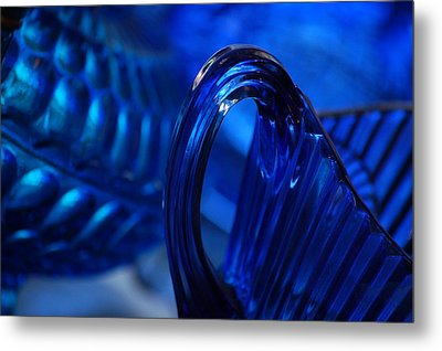 Blue Wave Metal Print by Eamon Forslund