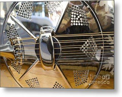 Blues Guitar Metal Print by Ed Rooney