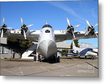 Boac British Overseas Airways Corporation Speedbird Flying Boat . 7d11246 Metal Print by Wingsdomain Art and Photography