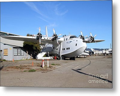 Boac British Overseas Airways Corporation Speedbird Flying Boat . 7d11249 Metal Print by Wingsdomain Art and Photography