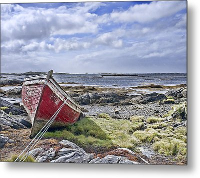 Metal Print featuring the photograph Boat by Hugh Smith