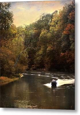 Boating On The Hatchie Metal Print by Jai Johnson