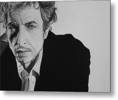 Bob Dylan Metal Print by Steve Hunter