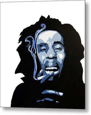 Bob Marley Metal Print by Michael Ringwalt