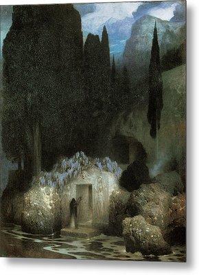 Bocklin's Tomb Metal Print by Ferdinand Keller