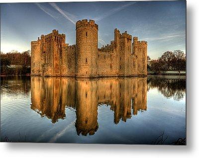 Bodiam Castle Metal Print by Mark Leader