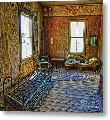 Bodie Ghost Town - Old House 03 Metal Print by Gregory Dyer