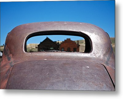 Metal Print featuring the photograph Bodie Ghost Town I - Old West by Shane Kelly