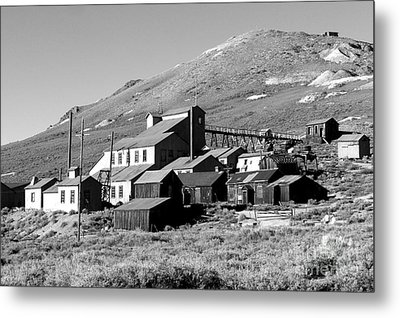 Metal Print featuring the photograph Bodie Ghost Town by Jim McCain