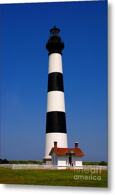 Bodie Island Lighthouse Outer Banks Nc Metal Print by Susanne Van Hulst