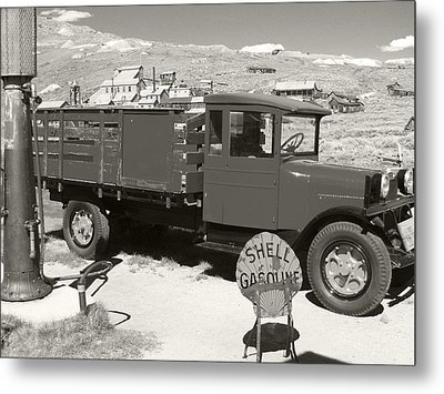Bodie Shell Gasoline 2 Metal Print by Philip Tolok