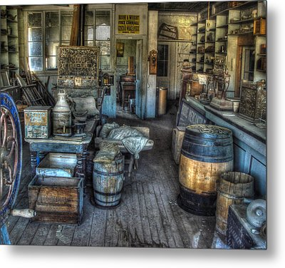 Bodie State Historic Park California General Store Metal Print by Scott McGuire