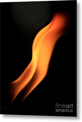 Body Of Fire Metal Print by Arie Arik Chen