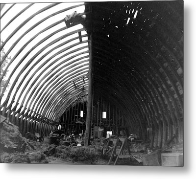 Bones Of The Barn Metal Print by Artist Orange