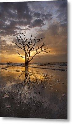 Boneyard Sunrise Metal Print by Joseph Rossbach