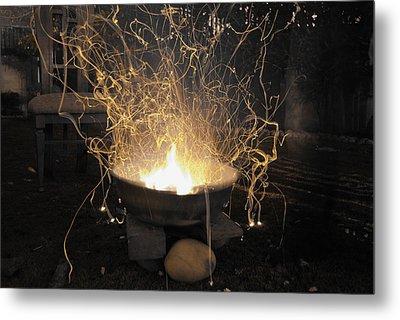 Bonfire Metal Print by Sumit Mehndiratta