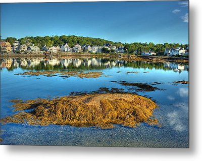 Boothbay Harbor Metal Print by Ron St Jean