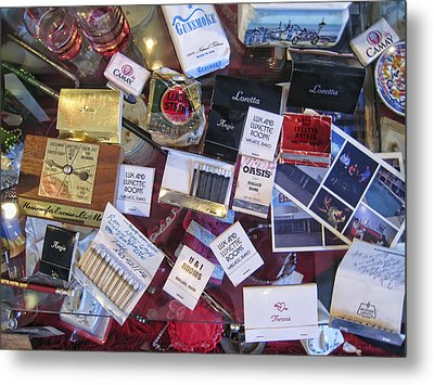 Bordello Paraphernalia 2 - Wallace Idaho Metal Print by Daniel Hagerman