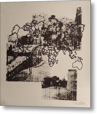 Borders 1 Metal Print by Taylor Lee Bisbee