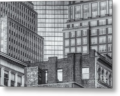 Boston Building Facades II Metal Print by Clarence Holmes