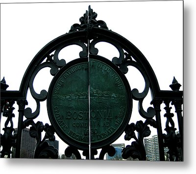 Boston Common Metal Print by Sheryl Burns