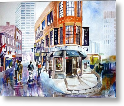 Boston Metal Print