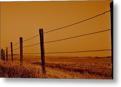 Metal Print featuring the photograph Boundary by Rima Biswas