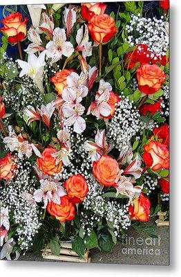 Bouquet Beauty Metal Print by Al Bourassa