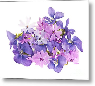 Bouquet Of Spring Flowers Metal Print by Elena Elisseeva
