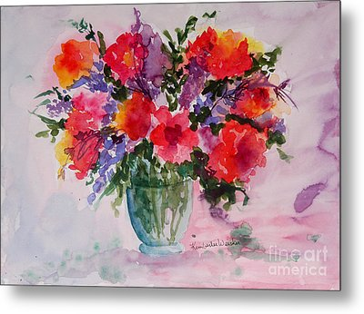 Bouquet Of Wishes Metal Print by Kimberlee Weisker